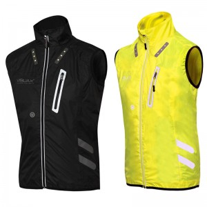LED Hi-Vis Advanced Tech - Gilet Lightweight, breathable