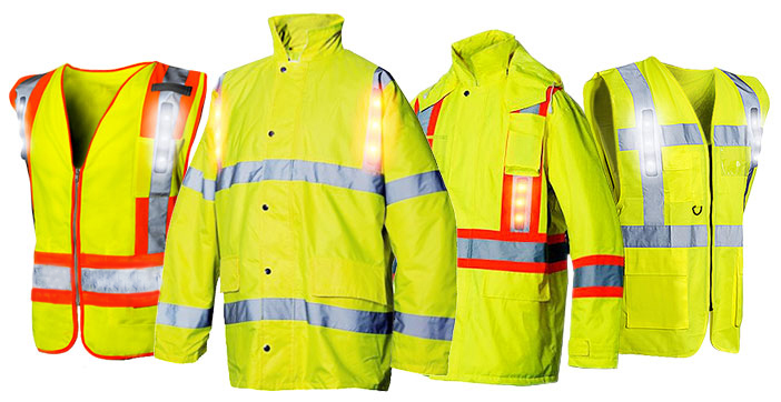 VISIJAX Industrial True High-Visibility Jackets & Vests - Available from CKL Workwear Distribution
