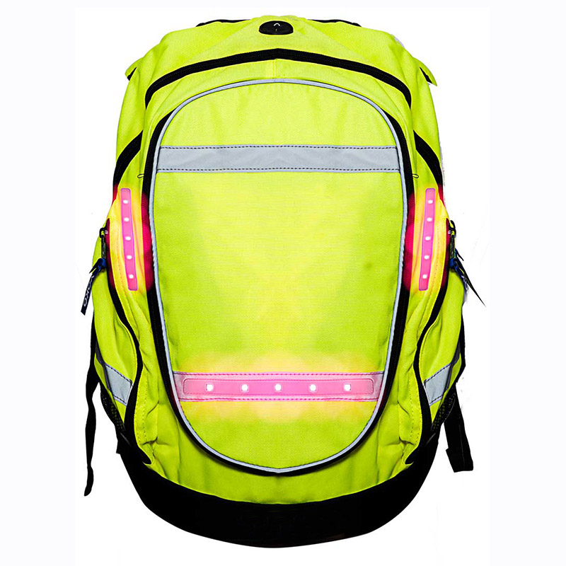 LED Hi-Vis Backpack - Cyclist Equestrian