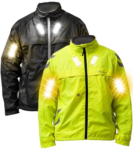 LED Hi-Vis 'Commuter' Cyclist Equestrian Indicator Jacket