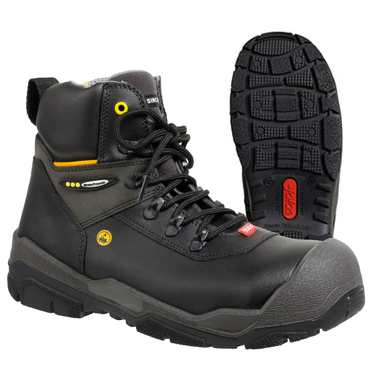 "JALAS® 1828 by Ejendals: ""JUPITER"" - Light, Durable, Comfortable Heavy Duty S3 Work Boot"