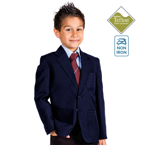 280gsm Boys Machine Washable School Blazer - CBZB01N