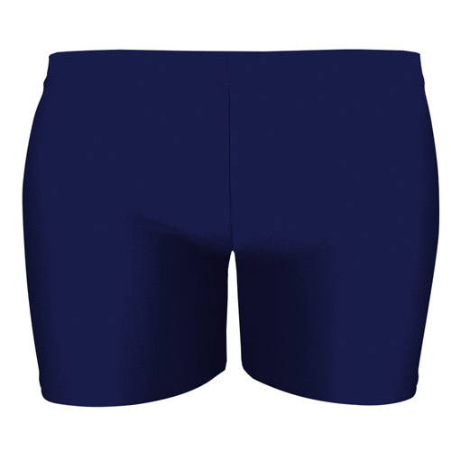 Girls' & Ladies' Hi-Stretch Shiny Hot Pants - DSTG02S-navy