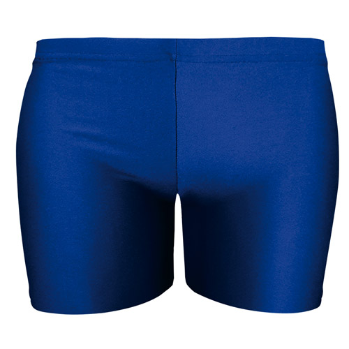 Girls' & Ladies' Hi-Stretch Shiny Hot Pants - DSTG02S-royal