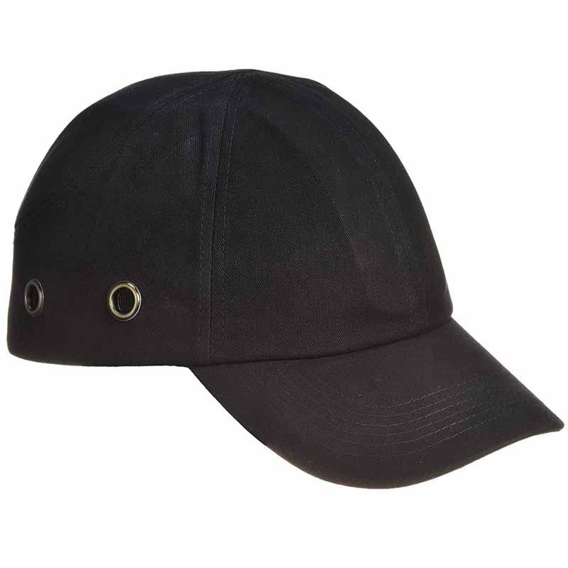 ABS Shell Long Peak Bump Cap - WHAA59-black