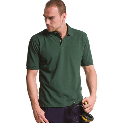 200g 100% Cotton Mens Classic Polo - JPA569