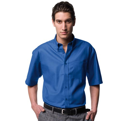 135g 70/30CP Mens Easy-Care Oxford Shirt Short Sleeve - JSHA933-main