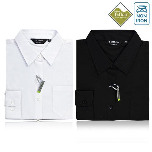 Noma Ladies Classic Long Sleeve Shirt NanoTech Fabric - NSHL01