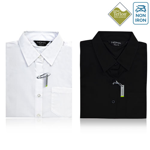Noma Ladies Classic Short Sleeve Shirt NanoTech Fabric - NSHL02