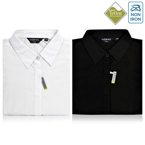 Noma Ladies Classic Fitted Shirt Short Sleeve - NSHL02F