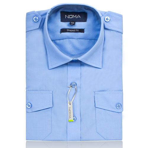 NSHL03-Noma Ladies Classic Shirt L/S-blue