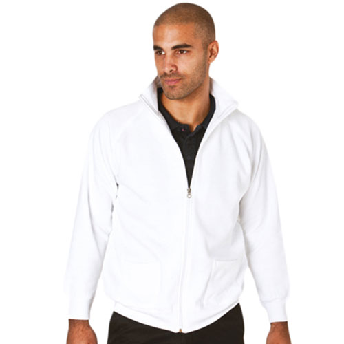 TSA03-315g 70/30CP Full Zip Raglan Sweat Jacket