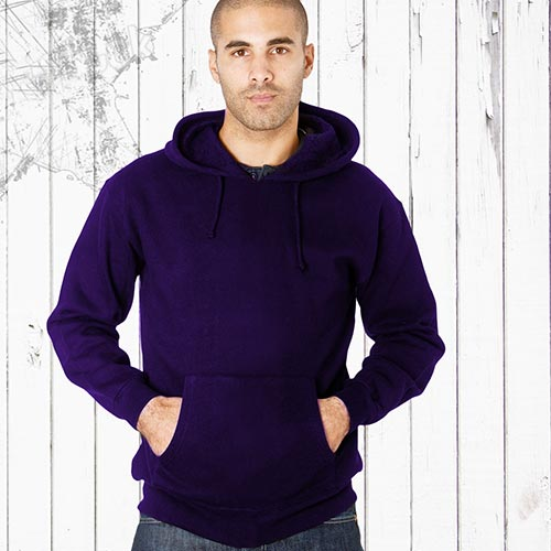 Adults 70/30CP Hooded Raglan Sweats-TSA04B-purple