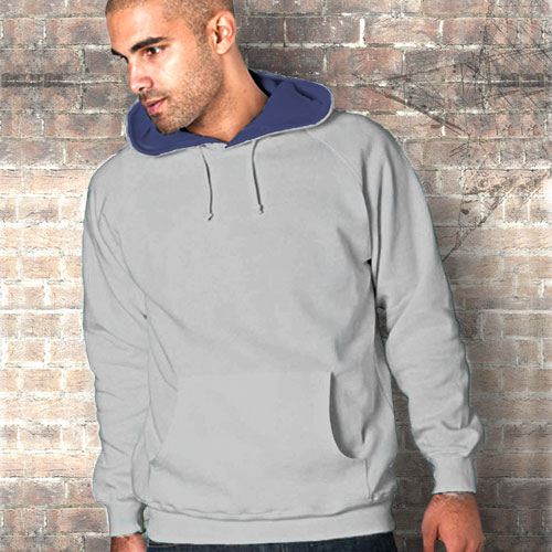 TSA07-280g 50/50 PC Contrast Hooded Raglan Sweats