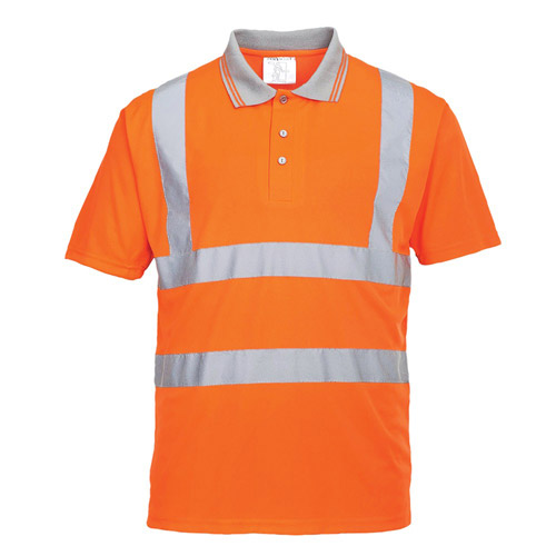Hi Vis Short SleevedPolo Shirt GO/RT-WPOA22-main