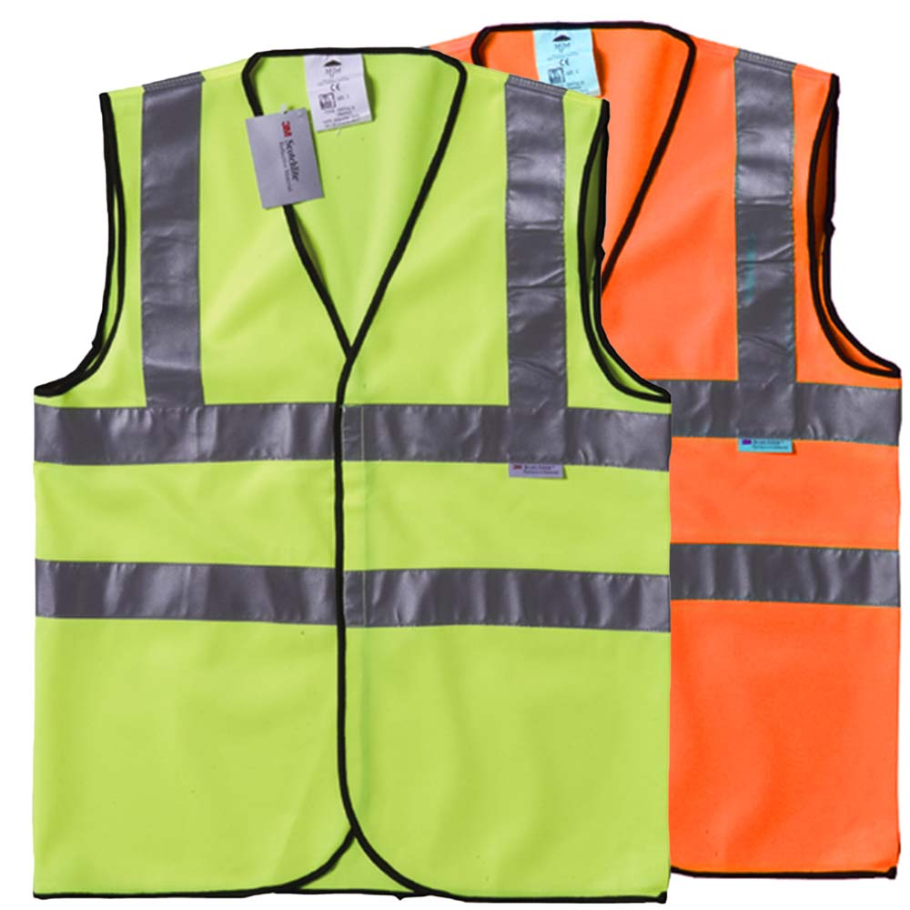 Hi Vis Double Band Vest-WWCA02_H