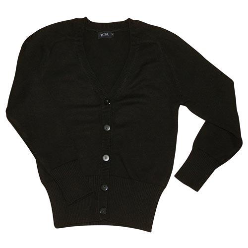Girls' Cotton Mix Knitted Cardigan - CCAK05