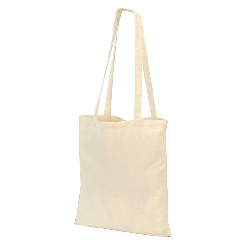 Guildford Cotton ShopperTote Shoulder Bag - GBA4112-natural