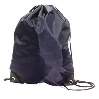 Stafford Nylon Drawstring Backpack - GBA5890-navy