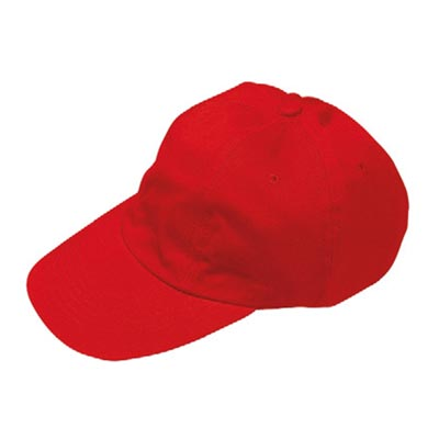 Baseball Cap 5 panel - GHAA01-red