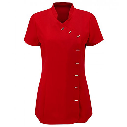 170g Ladies Classic Beauty Tunic-HTULBT1-red
