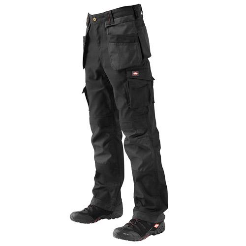 320g Canvas Premium Spec. Cargo Trouser - LCPNT210-black