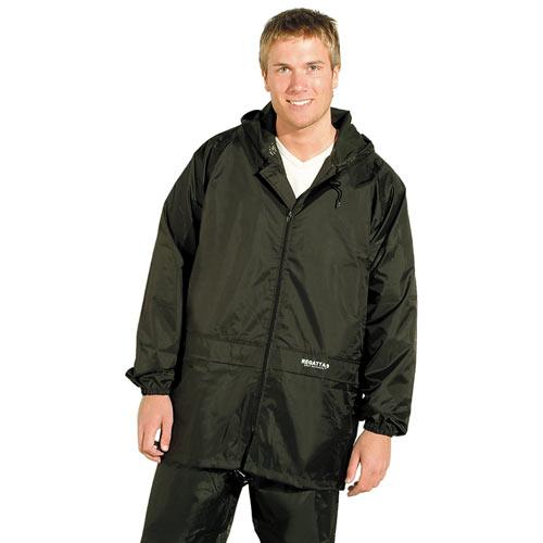 100% Polyester Pro Stormbreak Jacket - RJAA408-black