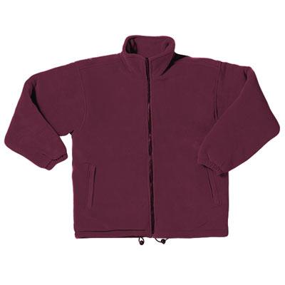 'Gold Label' Premium Padded Polar Fleece - TFA03-burgundy