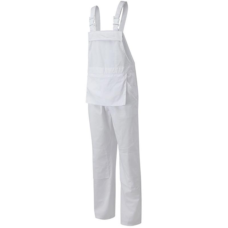 240g Bib'n'Brace Kneepad pockets - WBBA544-white