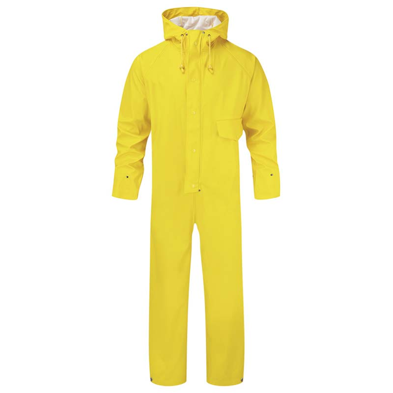 Flex Waterproof Stretchable Coverall - WBSA320-yellow