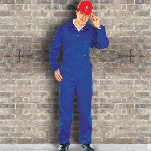 Zip-Front Coverall - WBSA366