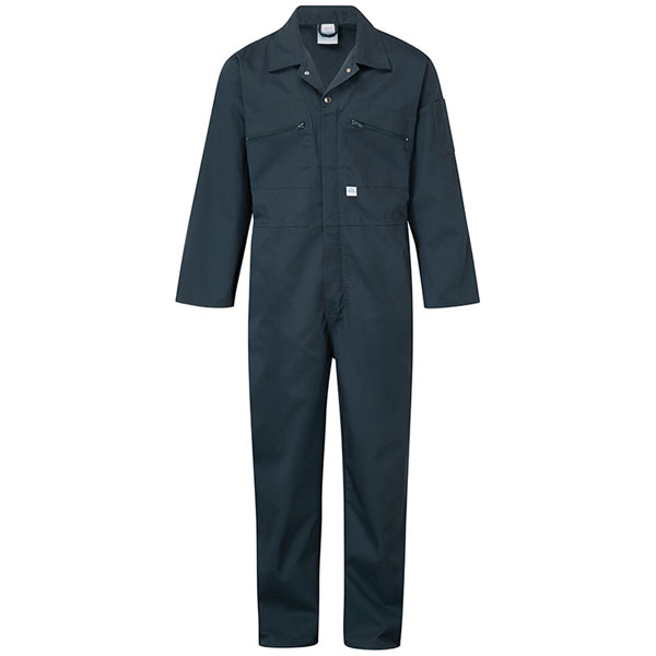 240g Zip-Front Coverall - WBSA366-spruce_green Workwear