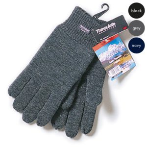 Thinsulate Lined Knitted Gloves WGLA01