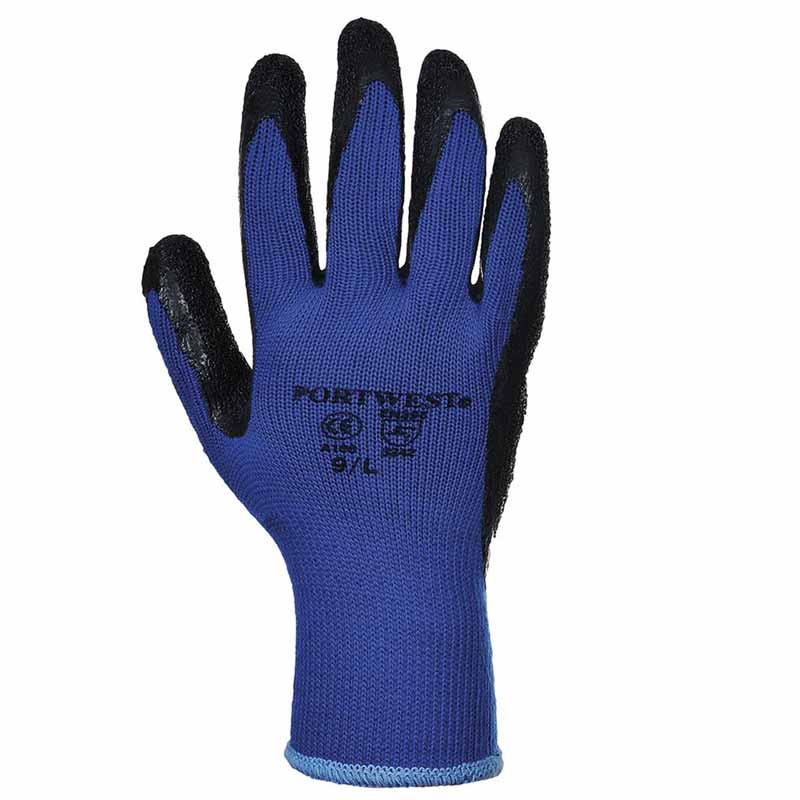 Premium Quality Grip Glove - WGLA100-blue