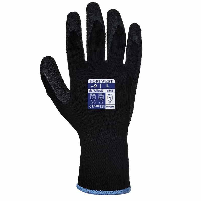 Thermal Grip Glove A140 - WGLA140-black
