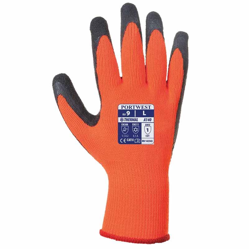Thermal Grip Glove A140 - WGLA140-orange