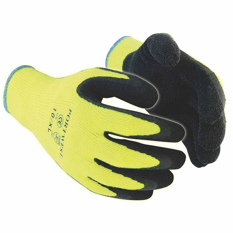 Thermal Grip Glove A140 - WGLA140-yellow