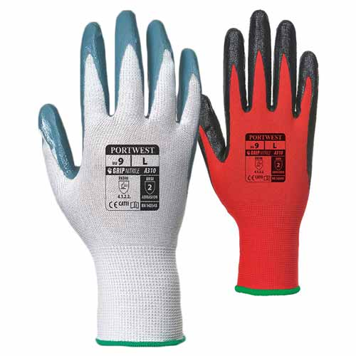 Smooth Nitrile Flexo Grip Glove - WGLA310