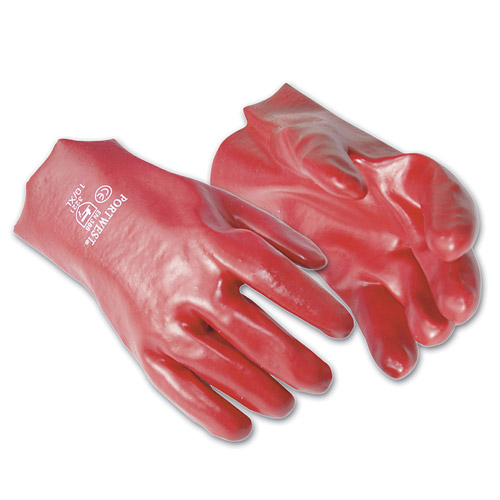 Fully Coated PVC Guantlet Glove - WGLA427