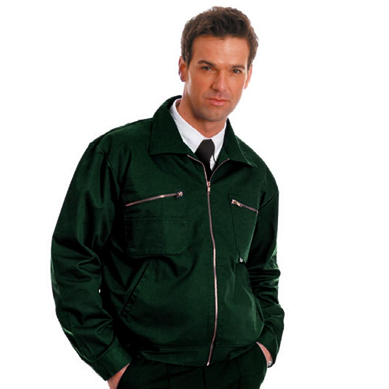 280gsm Heavyweight Drivers Jacket - WJAA30-spruce