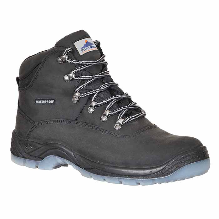 Steelite S3 Waterproof All-Weather Safety Boots - WSFA57-black