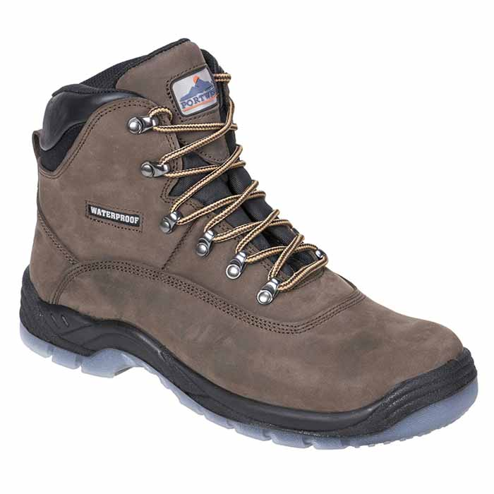Steelite S3 Waterproof All-Weather Safety Boots - WSFA57-brown