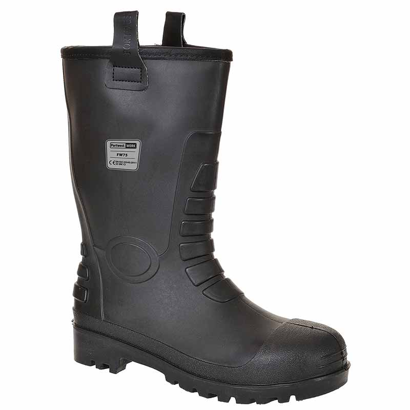 Steelite Neptune Rigger Safety Boots S5 - WSFA75-black