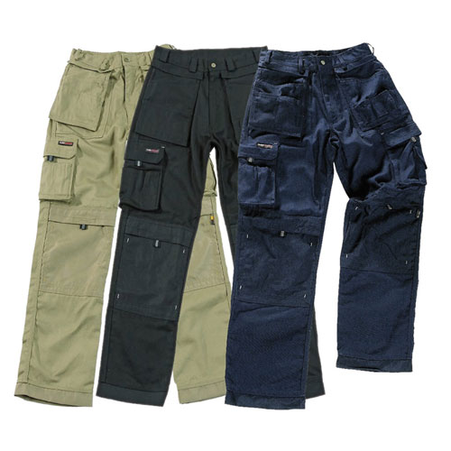 'Extreme' Work PC Canvas Trousers - WTRA700