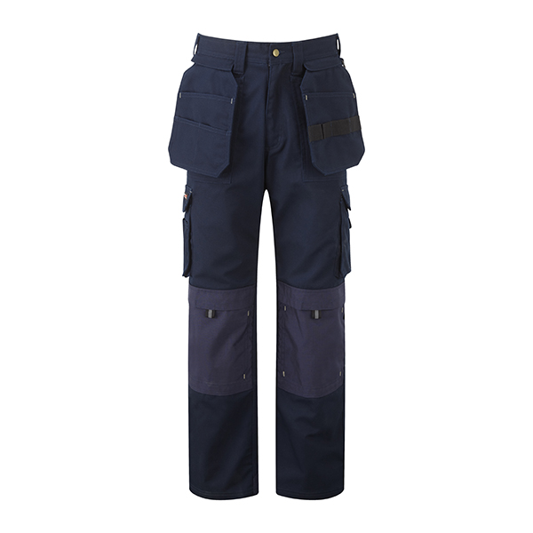 320g 'Extreme' Work PC Canvas Trousers - WTRA700-navy