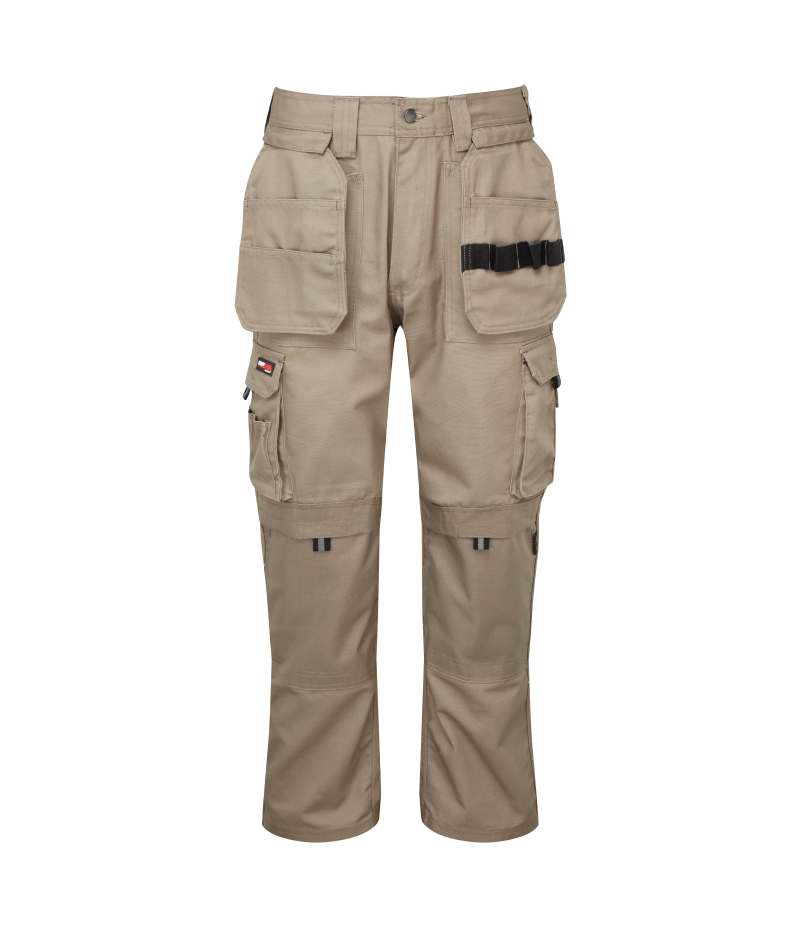 320g 'Extreme' Work PC Canvas Trousers - WTRA700-stone