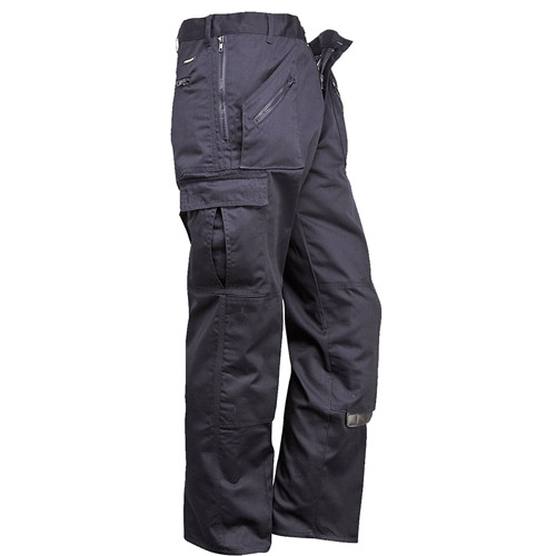 245gsm 'Action' Trouser - WTRA887-black-side