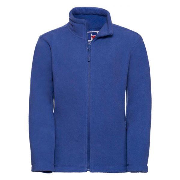 Kids Heavy Full Zip Outdoor Fleece - JFK870-bright-royal