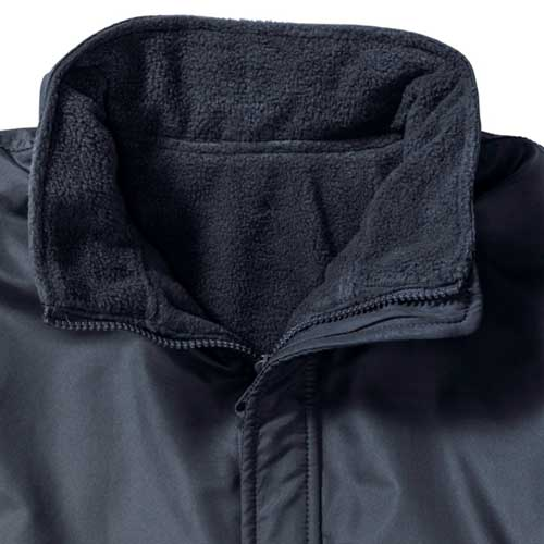 Kids Heavy Reversible Fleece - JFK875-navy