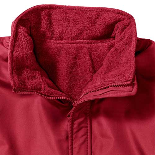 Kids Heavy Reversible Fleece - JFK875-red